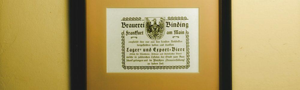 Binding Bier Brauerei